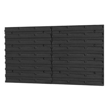 20 tlgs. Wandregal Lagerregal Regal inkl. Stapelboxen Ergobox m. Deckel 3-fabig - 6