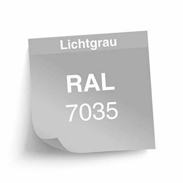 ADB Werkzeug Wandschrank Hängend 2 türig 75 x 100 x 20 cm RAL 7035/5012 - 3