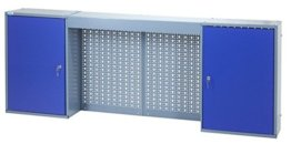 Küpper Hängeschrank Modell 70407, Breite 160 cm Farbe ultramarinblau - 1