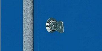 Küpper Werkbank Modell 12037, Breite 170 cm Farbe ultramarinblau - 4