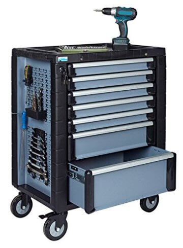 Küpper Werkzeugwagen befüllt - 1