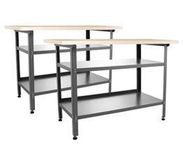 Ondis24 2x Montagewerkbank TÜV geprüft, Werkstatteinrichtung Werkstatt Werkbank Werktisch - 1