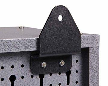Ondis24 großer Werkstattschrank Werkzeugschrank, TÜV geprüft, Werkstatt 120 cm breit mit 2 Lagerregalen - 2