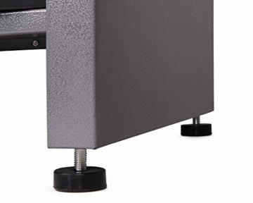 Ondis24 Werkstatt Set Ecklösung Basic One, Werkbank, Werkzeugschrank, Werkzeugwand Lochwand, Haken Set, Metall Bank (Arbeitshöhe 85 cm, anthrazit) - 2