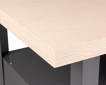 Ondis24 Werkstatt Set Ecklösung Classic One, Werkbank, Werkzeugschrank, Werkzeugwand Lochwand, Haken Set, Metall (Arbeitshöhe 85 cm, anthrazit) - 4
