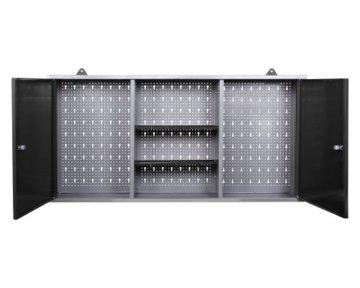 Ondis24 Werkstatteinrichtung 6-teilig Werkbank Werkzeugschrank Werkzeugwand/Lochwand mit Haken - 2