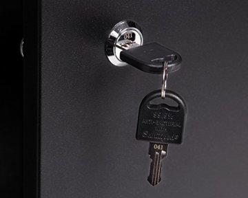 Ondis24 Werkstatteinrichtung 6-teilig Werkbank Werkzeugschrank Werkzeugwand/Lochwand mit Haken - 3