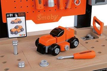 Smoby 360701 - Black + Decker Werkbank Center - 3