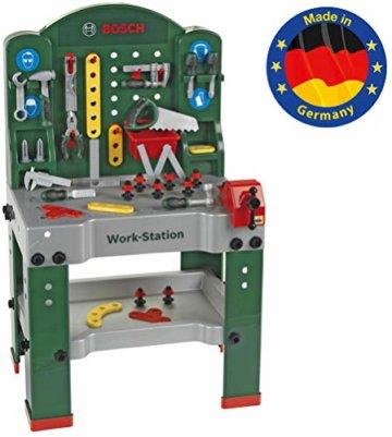 Theo Klein 8580 - Bosch Workstation 60 x 78 cm, Spielzeug - 1