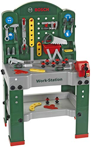 Theo Klein 8580 - Bosch Workstation 60 x 78 cm, Spielzeug - 5