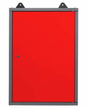 Ondis24 Werkstatt rot Werkstatteinrichtung 8 tlg. grau Werkbank Werkzeugschrank Lochwand - 7