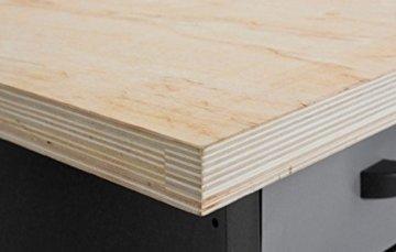 Werkbank mit 6 Schubladen Profiqualität für die Werkstatt 170 cm - 4